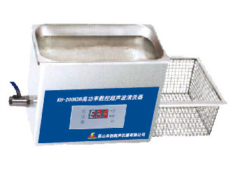 昆山禾创台式高功率数控超声波清洗器KH200KDE