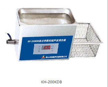 昆山禾创台式高功率数控超声波清洗器KH200KDB