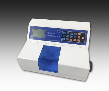 上海黄海药检片剂硬度测定仪YPD-300D