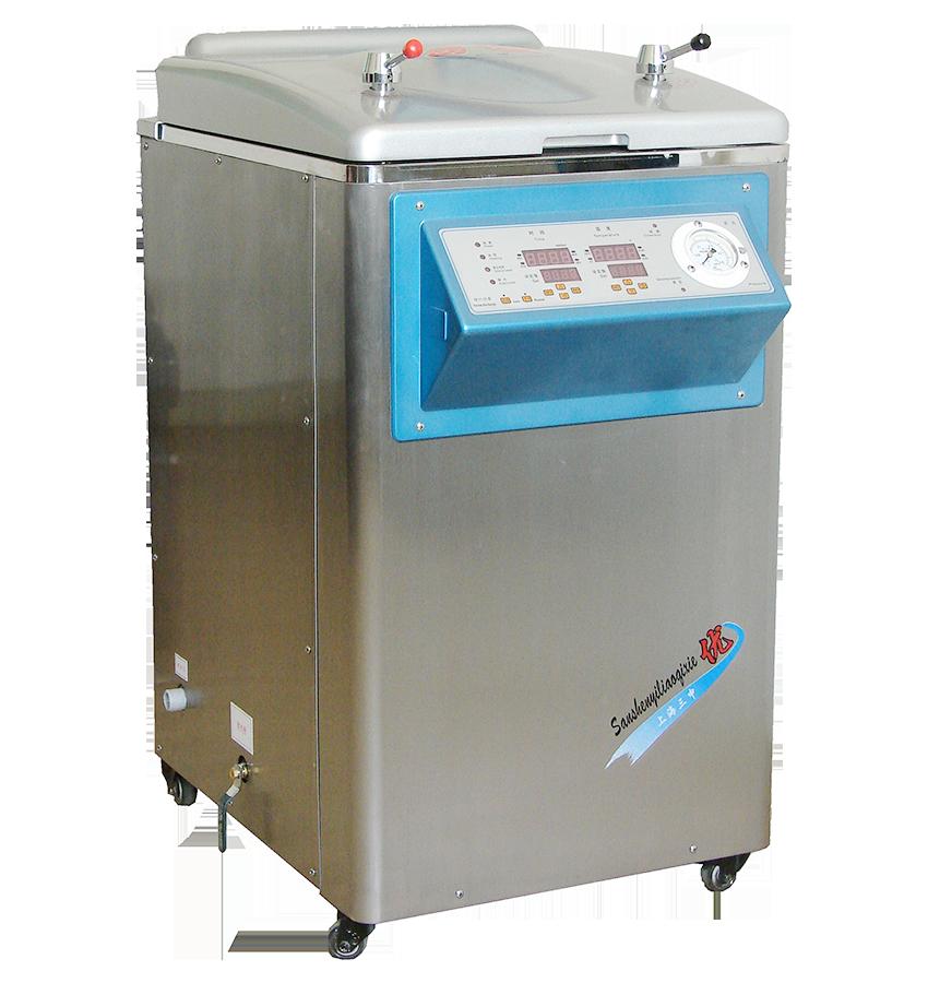 上海三申YM系列立式压力蒸汽灭菌器(定时数控)YM75